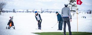 札幌北広島×GDO Snow Golf オープンコンペ2020